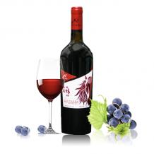 兰山红蛇龙珠红优干红葡萄酒