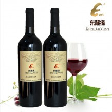 东麓緣特酿干红葡萄酒750ml*2瓶