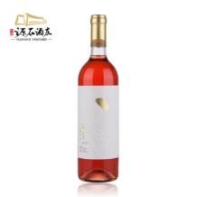 源石酒庄 石黛半甜桃红葡萄酒
