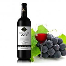 西夏王至上优品三星梅鹿辄干红葡萄酒