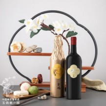 西鸽酒庄 玉鸽单一园蛇龙珠干红葡萄酒 贺兰山东麓葡萄酒