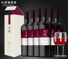 长城天赋酒庄赤霞珠/丹菲特整箱 红酒  6支/箱