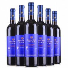 御马酒庄 蓝钻干红葡萄酒 6支装整箱