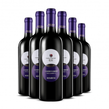 紫尚卡本尼特干红葡萄酒 750ml 6支装