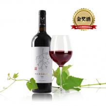 蒲尚2014马瑟兰干红葡萄酒 金奖酒
