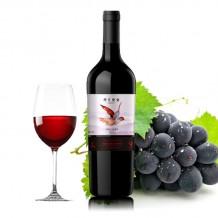 西夏王2011外交使者嘎百纳干红葡萄酒
